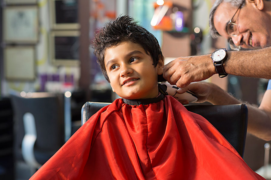Haircut at home for gents & kids